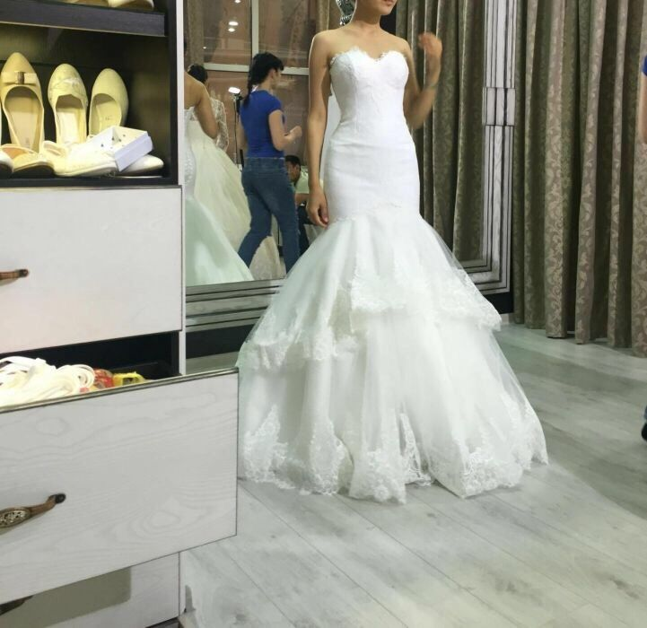 Элегантное свадебное платье! Эксклюзив не пропустите!!!