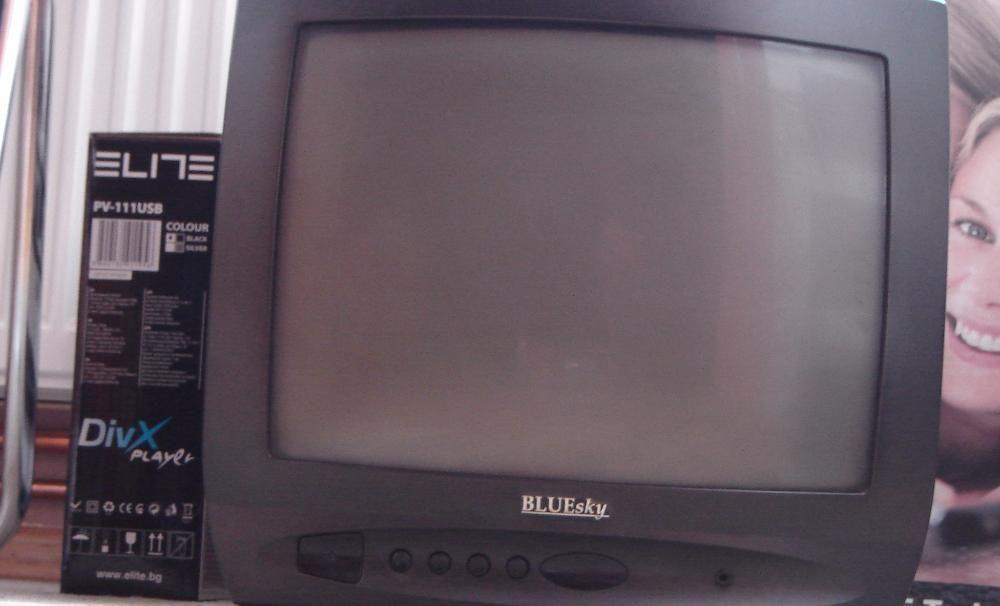 TV color BlueSky diag. 37 CRT