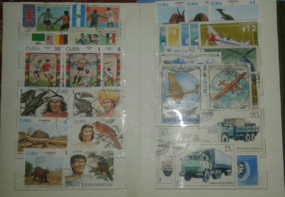 Марки почтовые , коллекционные СССР и зарубежные