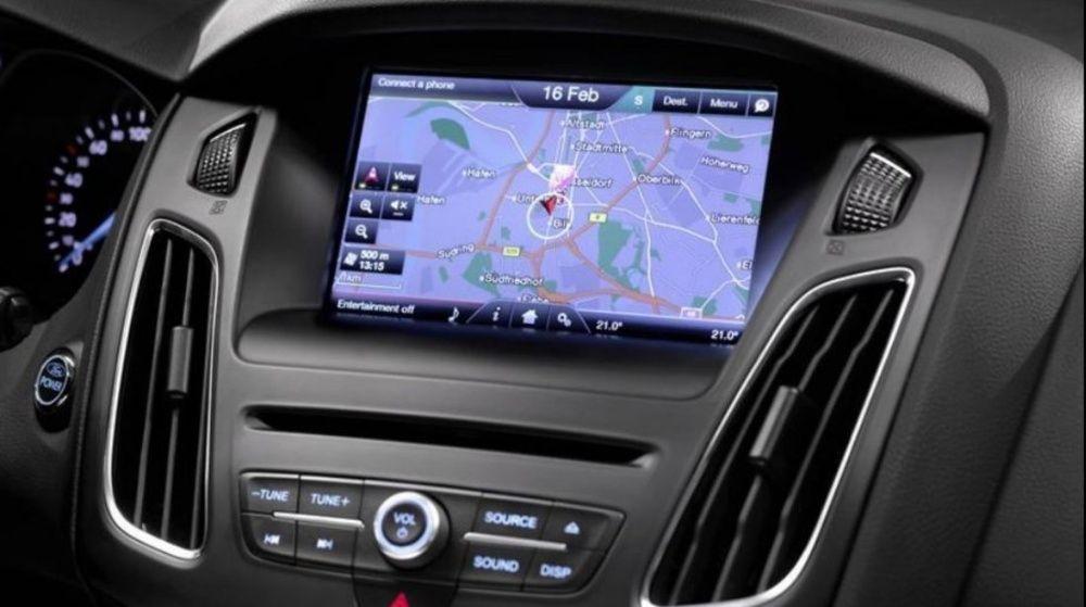 SD Card Ford MCA MFD Focus Mondeo Kuga Harta Navigatie Romania 2018
