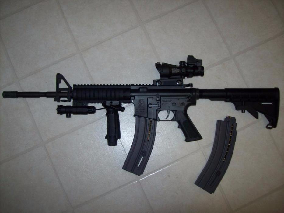 Pusca cu aer comprimat MANUALA Colt M4 (Ultra Puternica!! Airsoft)