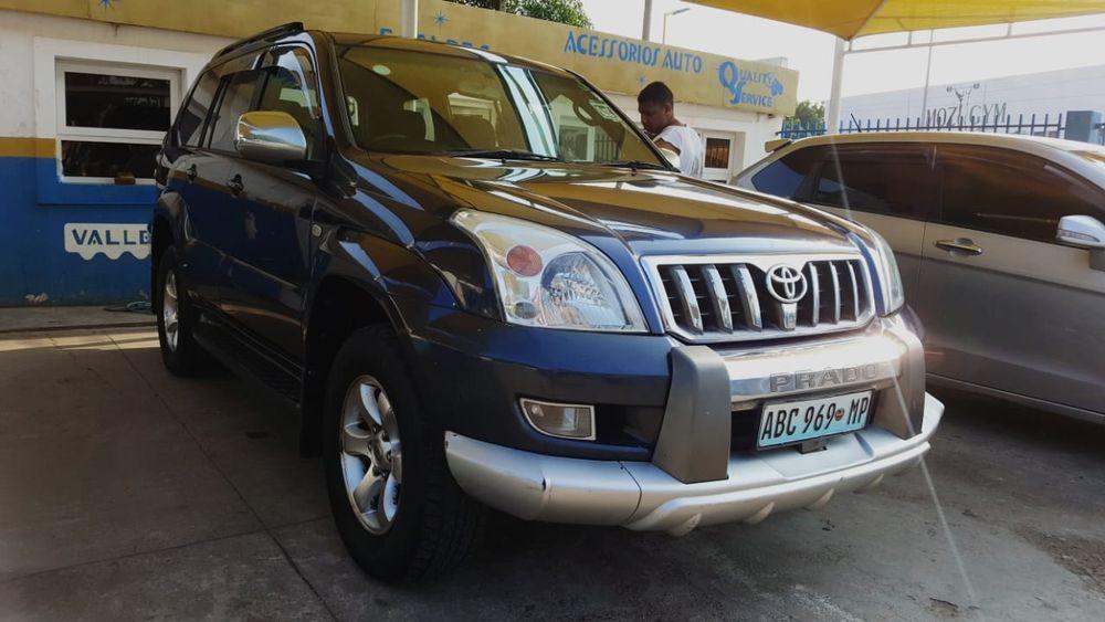 Prado a diesel 4x4