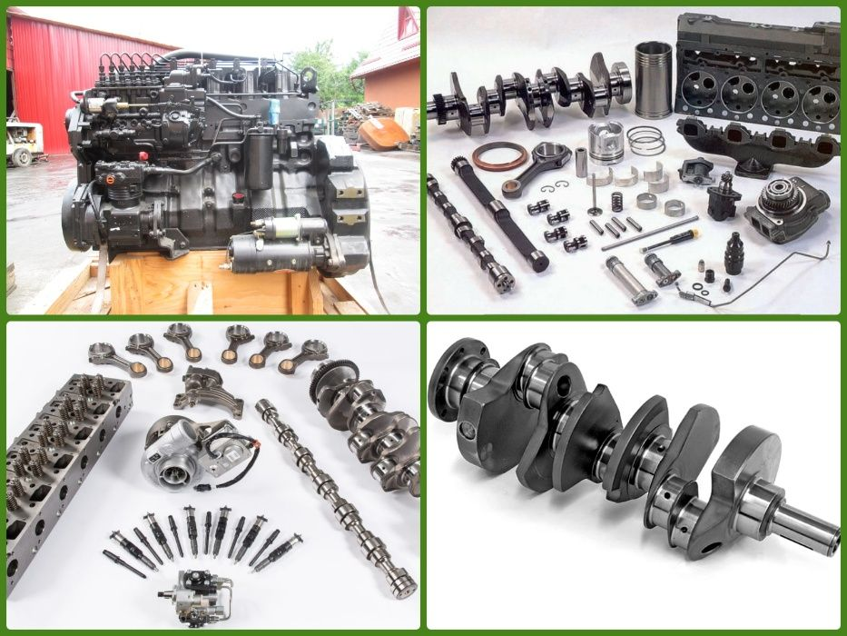 Piese noi pentru diferite tipuri de motoare diesel