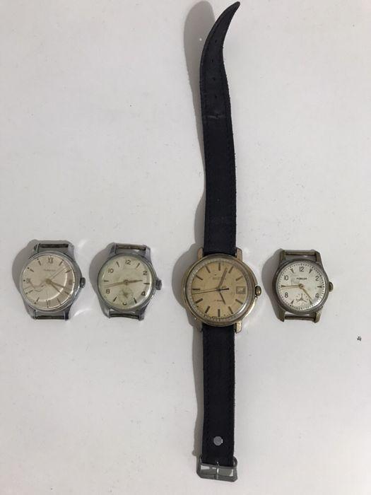 Lot ceasuri 4 foarte vechi automate si 4 mai noi