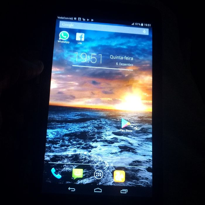 Celular Tablet em bom estado apenas 1600 Cidade de Matola - imagem 2