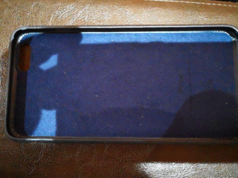 Vand Husa Apple originala piele Iphone 6s Plus Neagra