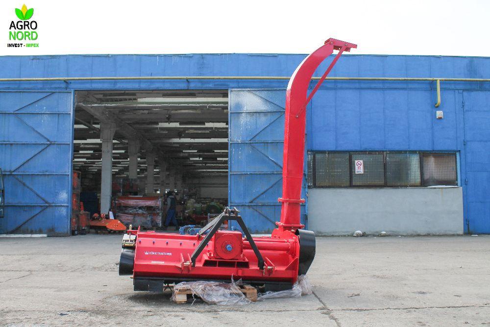 Tocator siloz resturi vegetale cu gat TF 69 - 1,8 m pt tractor