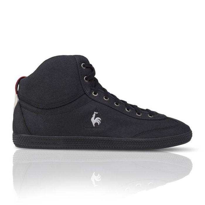 LeCoq Sportif Hi Shoes FullBlack