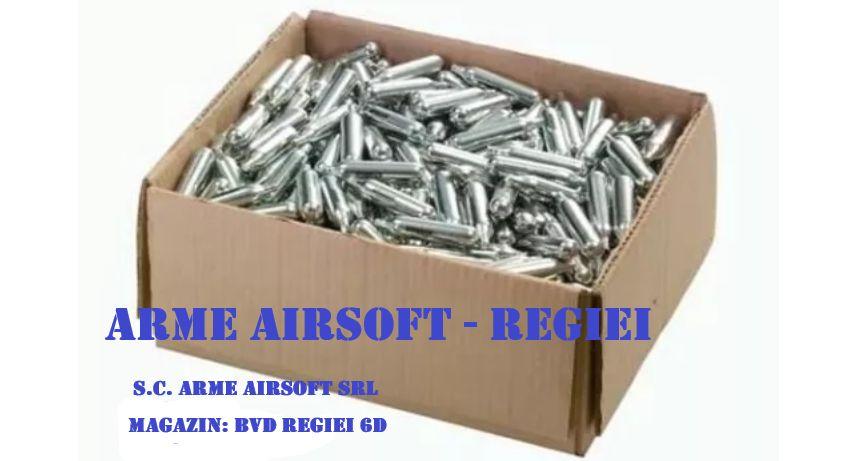 SUPER OFERTA!pentru 100Capsule CO2 12 Gr CYBERGUN Pistol,Pusca Airsoft