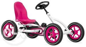 Cart / Kart cu pedale pentru copii BERG Buddy White