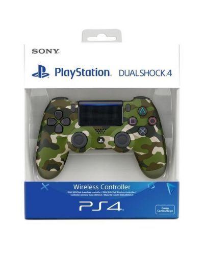 Sony DualShock 4 V2 - Green Camo / Джойстик Sony / PS4
