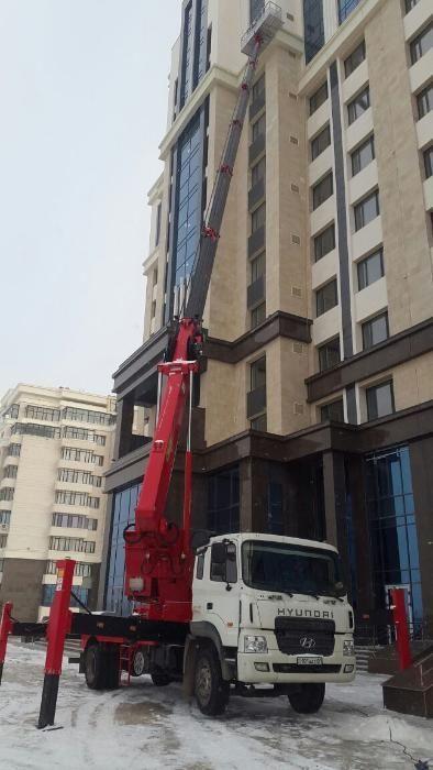 Услуги автовышки от 16 до 45 метров