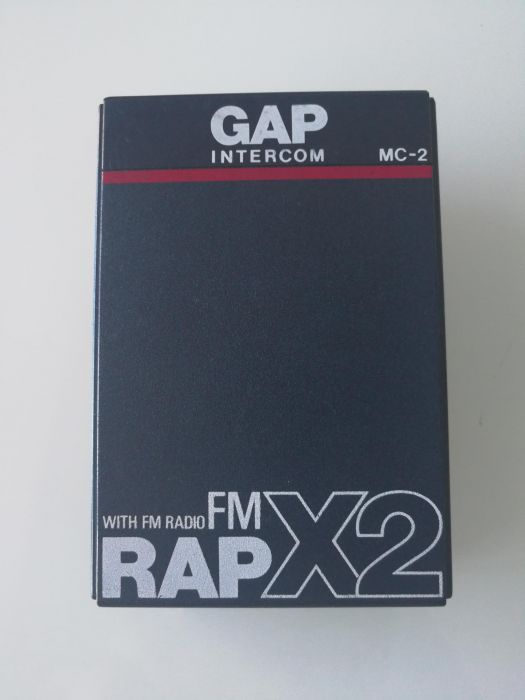 Intercom Gap model Rap x2 cu radio fm