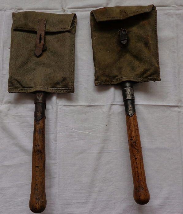 Ретро Австрийска войнишка лопата модел 1915 год. два броя