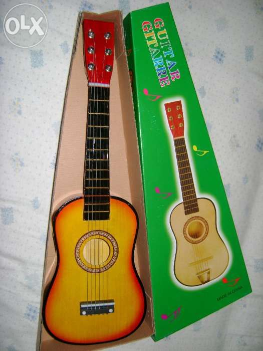Chitara mica acustica pentru copii- produs nou Bucuresti - imagine 6