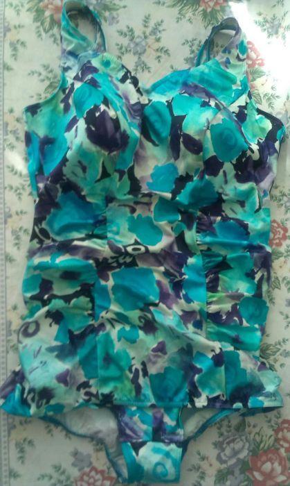 2бр.Голям размер цял бански/тип рокля
