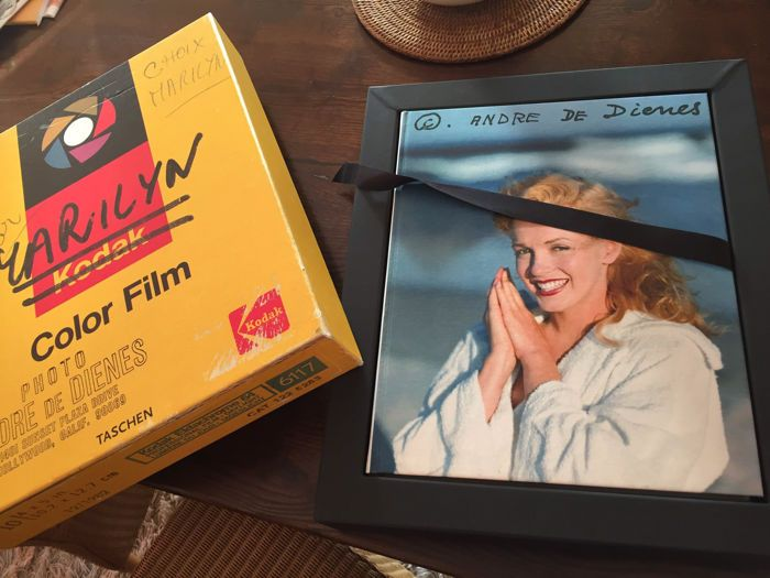 TASCHEN Marilyn by Andre De Dienes carte rara limitata album foto XXL
