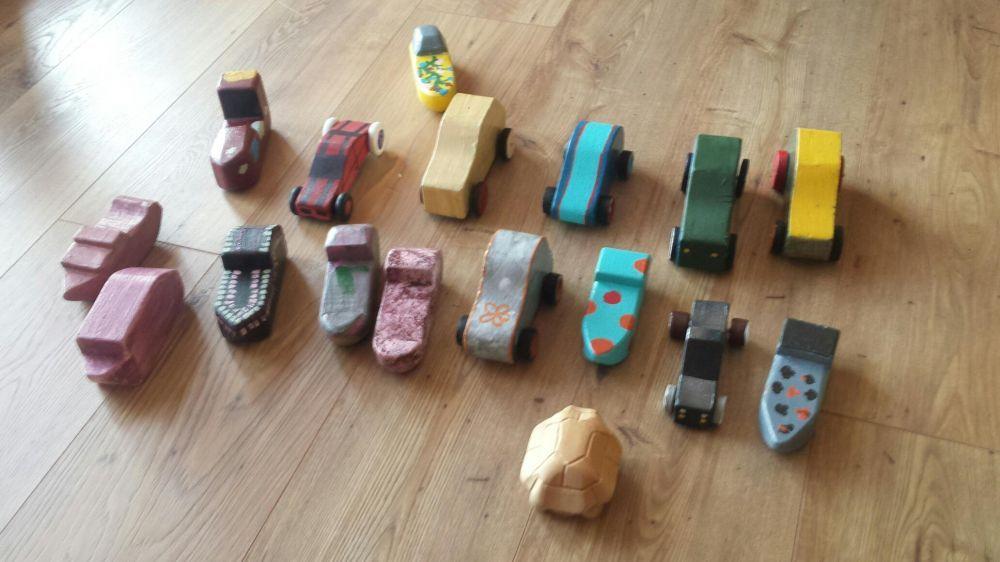 Jucarii din lemn (mașini, bărcuțe)