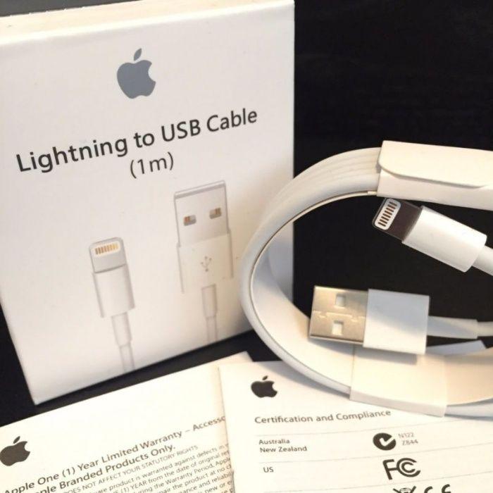  С ГАРАНТИЕЙ! Оригинальные Lightning ЗАРЯДКИ iPhone (Айфон) +Доставка
