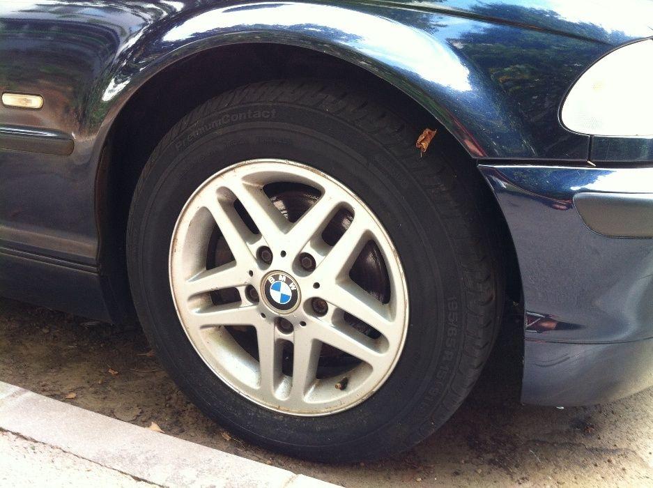 Set jante OE style 53 pe 15 BMW e46 + anvelope vara