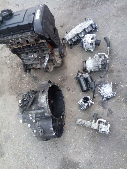 Electromotor VW GOLF V/Passat B6/Touran,SEAT 2.0 TDI,103KW,140CP,BKD.