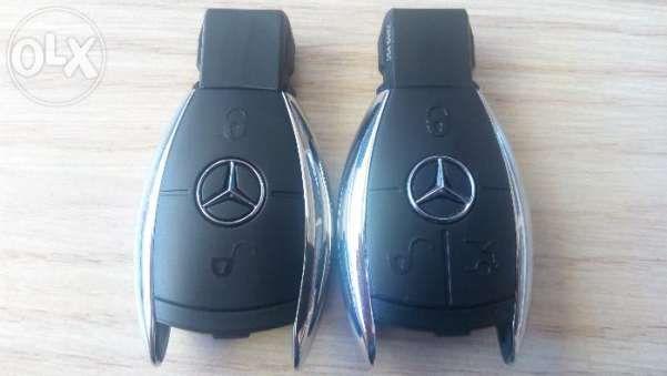 Кутийки ключ за Мерцедес(Mercedes) Кутийка рибка с 2/3 бутона Никел