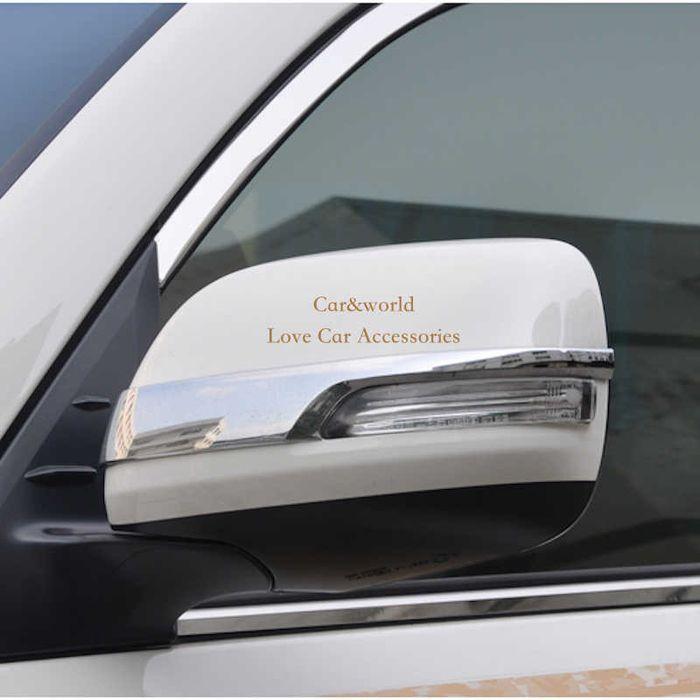 Хром на корпус зеркала для Toyota Land Cruiser 200 (на рестайлинг )