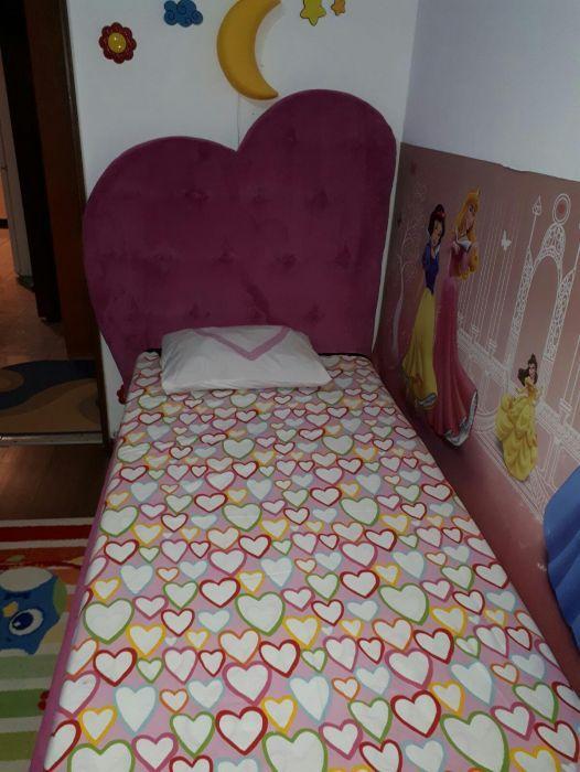 Pat tapițat pentru copii Bucuresti - imagine 1
