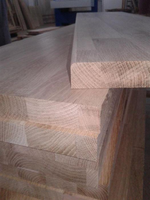 Producem trepte din lemn masiv de stejar