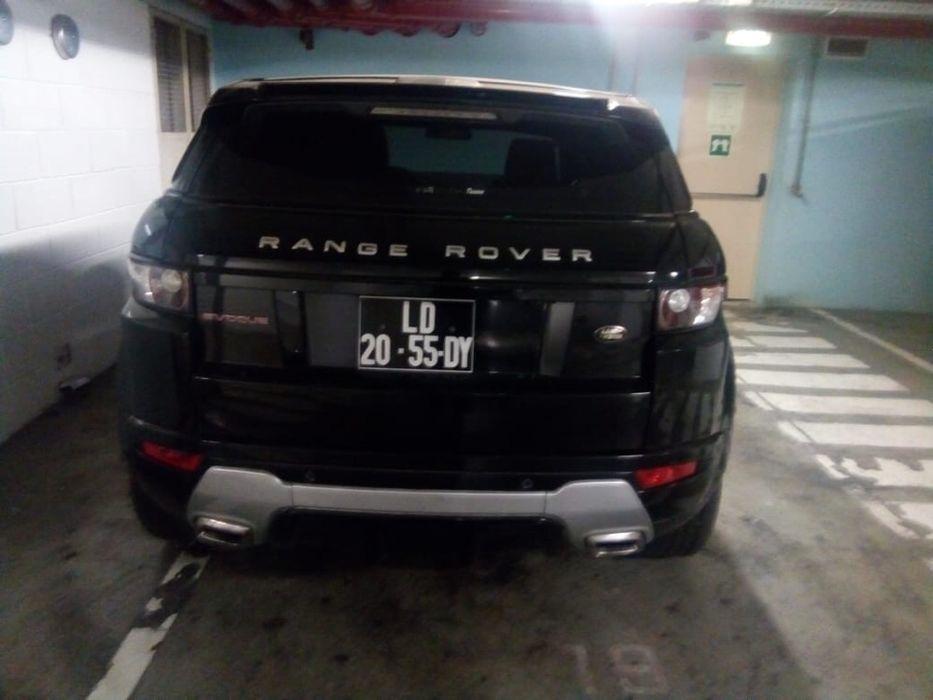 A venda Range Rover Evoque 2013