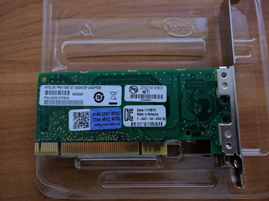 Placa de retea Intel PRO 1000/GT Gigabit