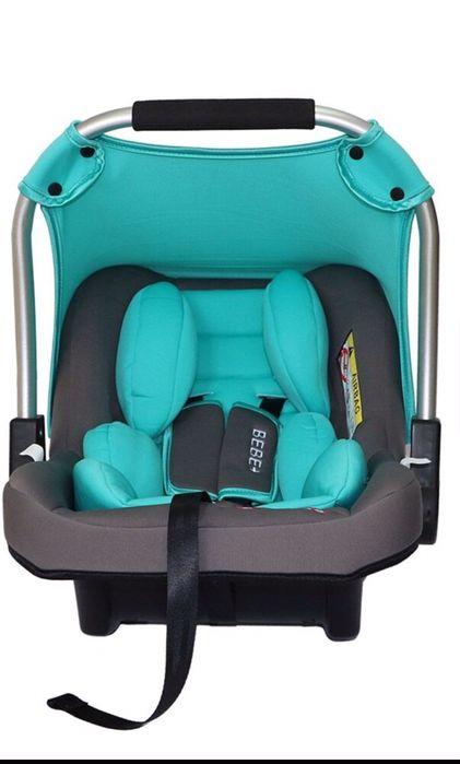 НОВ Стол за кола - кошница, 0 - 13кг, Bebino Plus, цвят тюркоаз