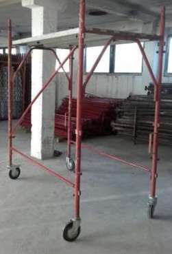 Inchiriez schela metalica mobila (pe roti) pentru interior / exterior.