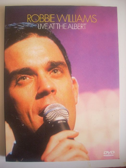 Robbie Williams - Live At The Albert оригинално DVD- Ново!