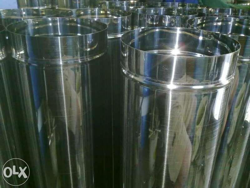Кюнци от неръждавейка -производител -0.5мм Ф200 -37лв/м ,/ ф160-30лв.
