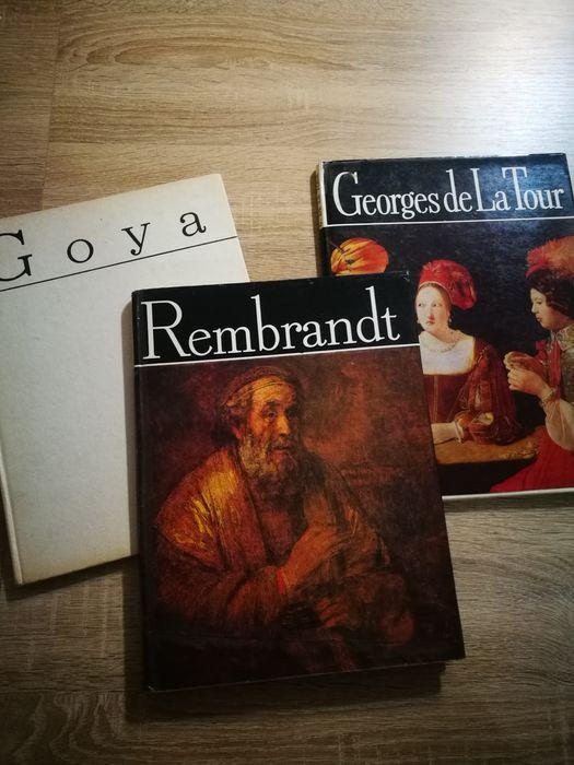 Cladicii picturii universale. Goya. Rembrandt. Georges de la Tour