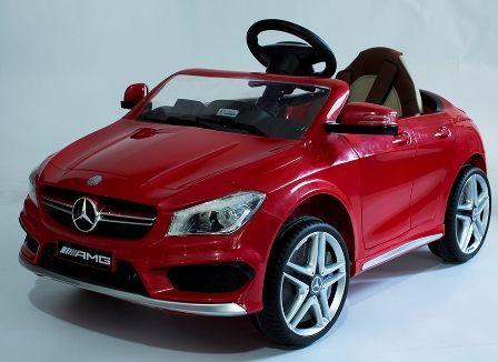 Masinuta electrica pentru copii Mercedes CLA + factura + garantie Bucuresti - imagine 2