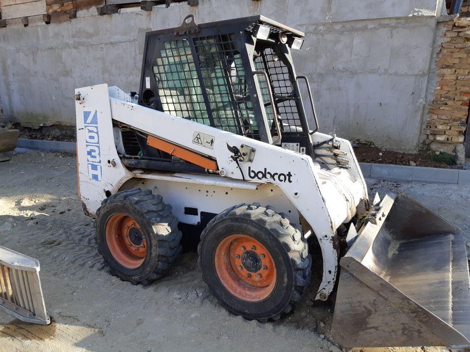 Servicii Bobcat, miniexcavator, transport