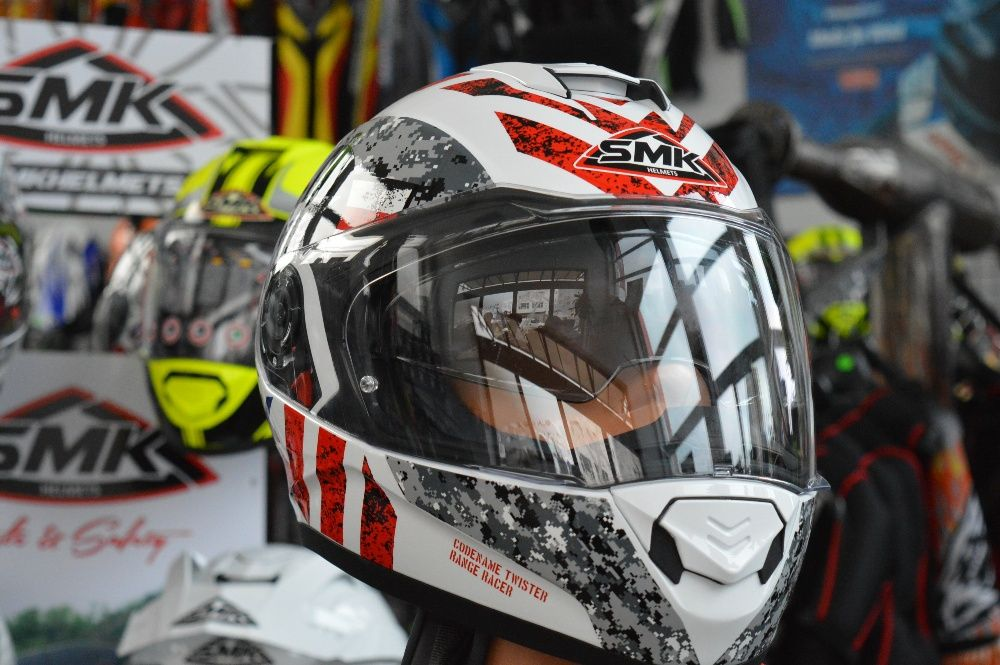 Casca moto SMK Twister Captain
