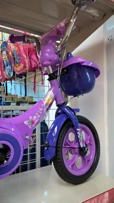 Bicicleta pentru copii 12 inchi , roti ajutatoare ,accesoriu portbagaj