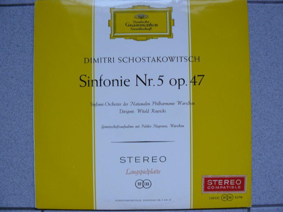 """Disc Vinil """"DIMITRI SCHOSTAKOWITSCH - Sinfonie Nr.5 op.47"""" Original"""