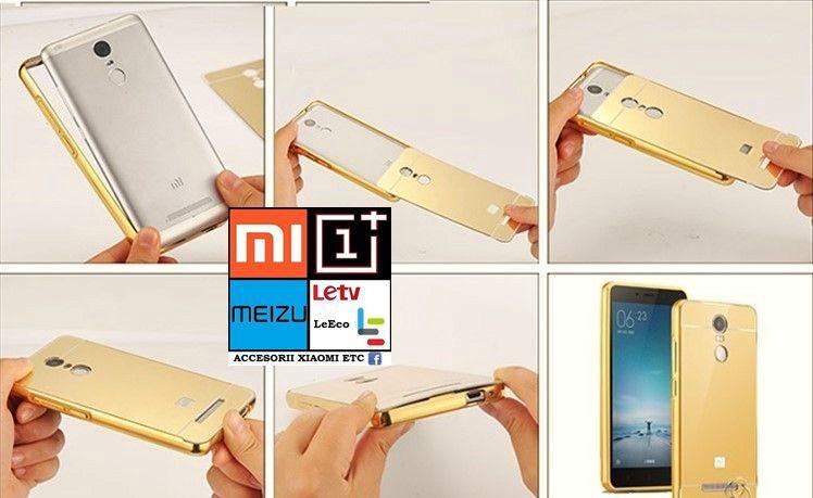 Husa/Bumper+capac XIAOMI Redmi Note 2,3,4.Redmi3,3s,Mi4c,Mi5,Mi5s/Plus