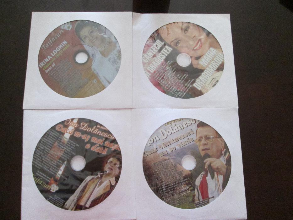 CD uri din colectia Taifasuri cu muzica populara, usoara, lautareasca