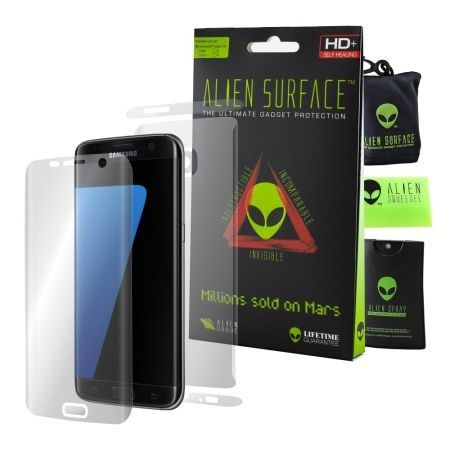 Folie Alien Surface,Samsung GALAXY S7 Edge,ecran,spate,laterale