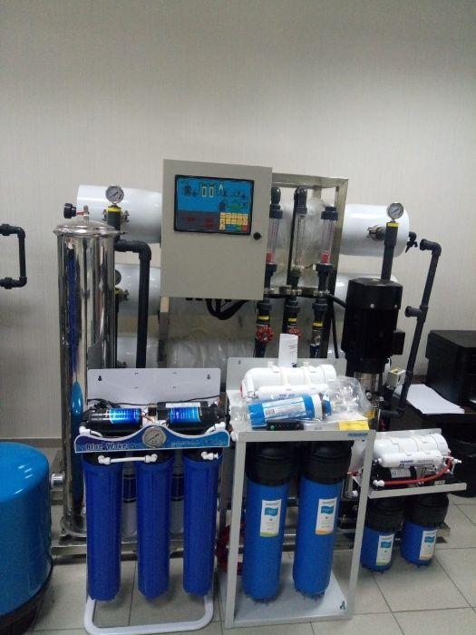 Фильтры для очистки воды. Промышленные ОСМО системы