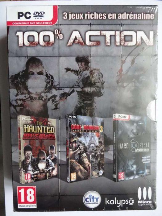 Joc PC- set 100% Action -3 jocuri