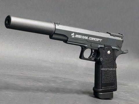 Pistol Cu Aer Comprimat MODIFICAT Din FIER Co2 Arma non-LETALA Airsoft