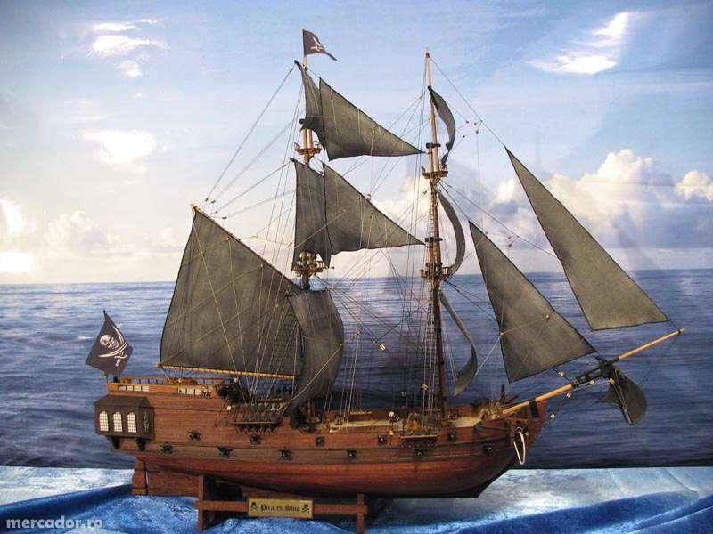 Vand macheta corabie pirati