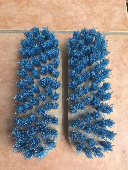 Perie de plastic dura perie de radacini pt curatat covoare piatra