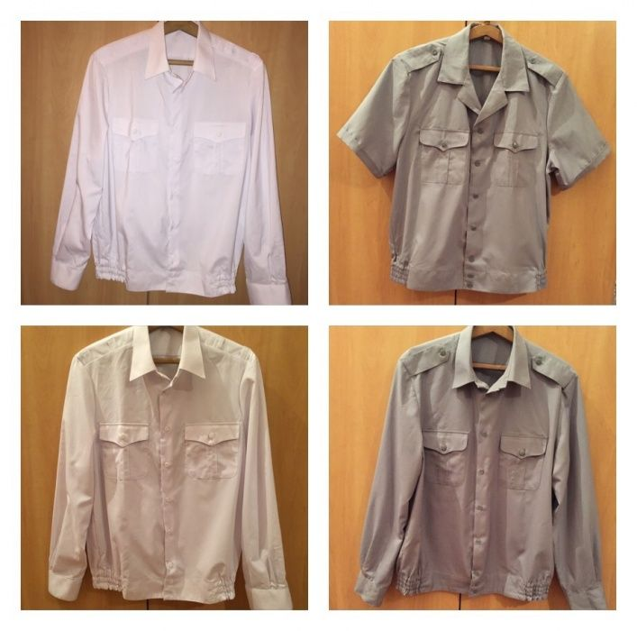 Продам военные рубашки размер 50